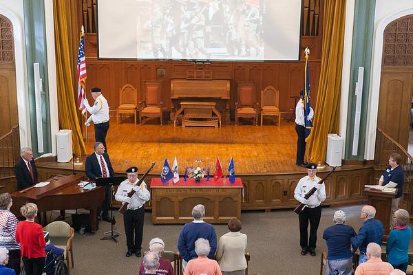 2017 Veterans Day at Camp Peabody