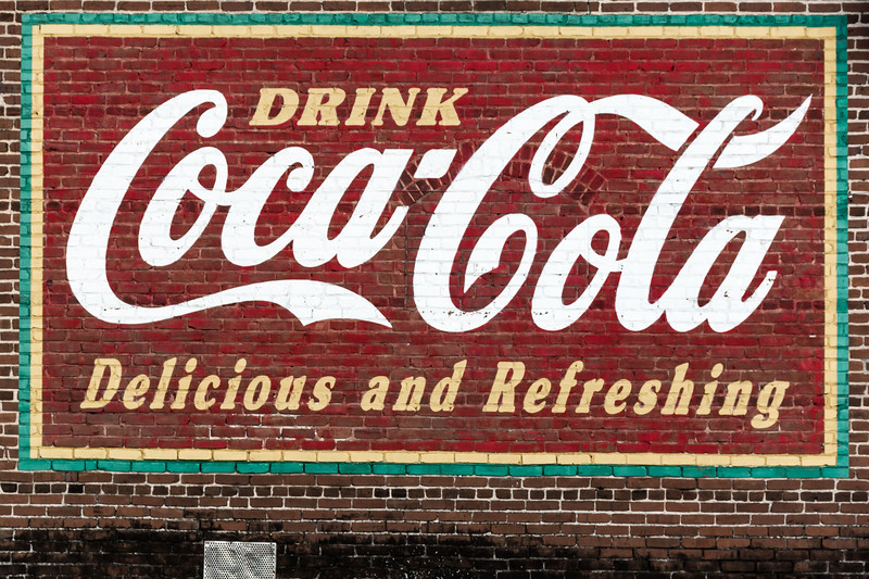 GA, Austell - Coca-Cola Wall Sign 03