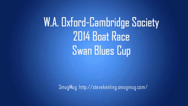 WA Oxford Cambridge Society Boat Race 2014