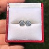 3.48ctw Antique Cushion Cut Diamond Pair GIA J SI1/GIA K SI1 7