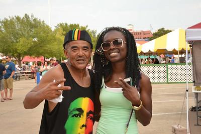 OKC Bricktown Reggae Fest Sat Aug 3, 2013