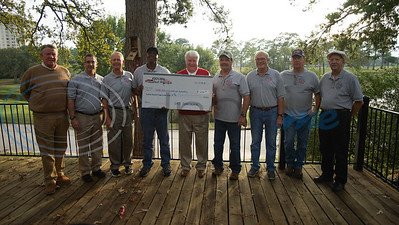 10/29/19 East Texas Cruzers Present Check to Texas Wounded Warriors Foundation by Travis Tapley