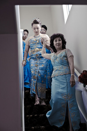 Bride Getting Ready (Cambodian)