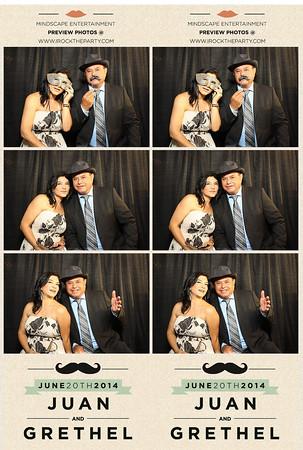Juan & Grethel Padilla Wedding - Photo Booth Pictures
