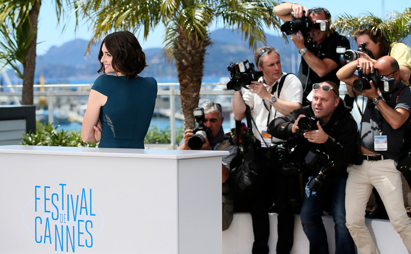 . Actress Paz Vega poses for photographers during a photo call for Grace of Monaco at the 67th international film festival, Cannes, southern France, Wednesday, May 14, 2014. (AP Photo/Alastair Grant)