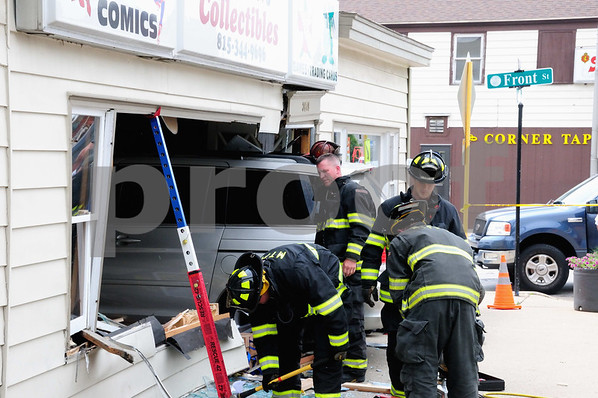 MCHENRY COMIC BOOK STORE BECOMES DRIVE THRU
