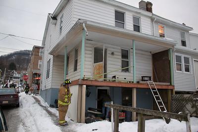 Odor Investigation, Penn St, Tamaqua (1-25-2011)