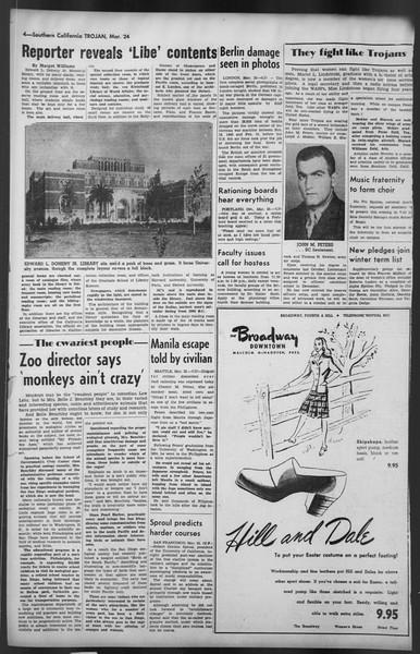 The Trojan, Vol. 35, No. 98, March 24, 1944