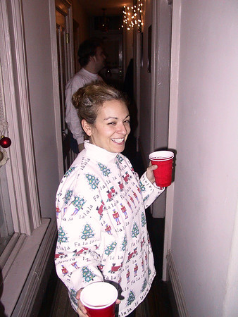 Ugly Christmas Sweater Party '04