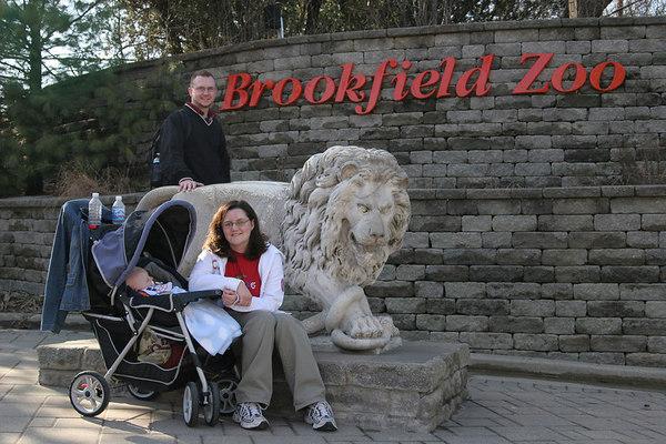 Brookfield Zoo Trip - March 11, 2007