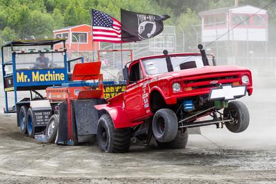 Truck Pull #2  -  Legion Speedway  -  27 June 2015