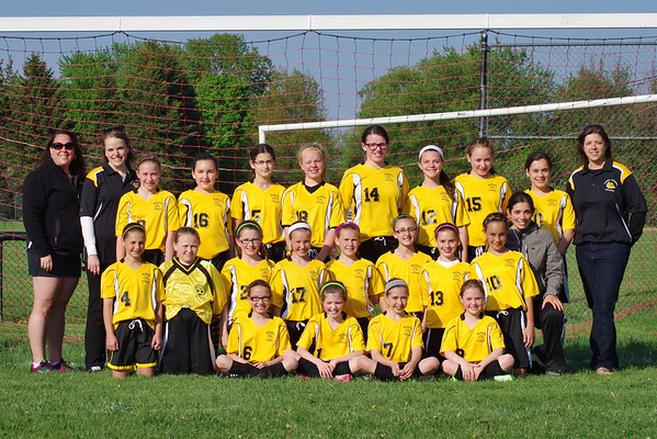 Blessed Sacrament JV Girls Soccer 2014