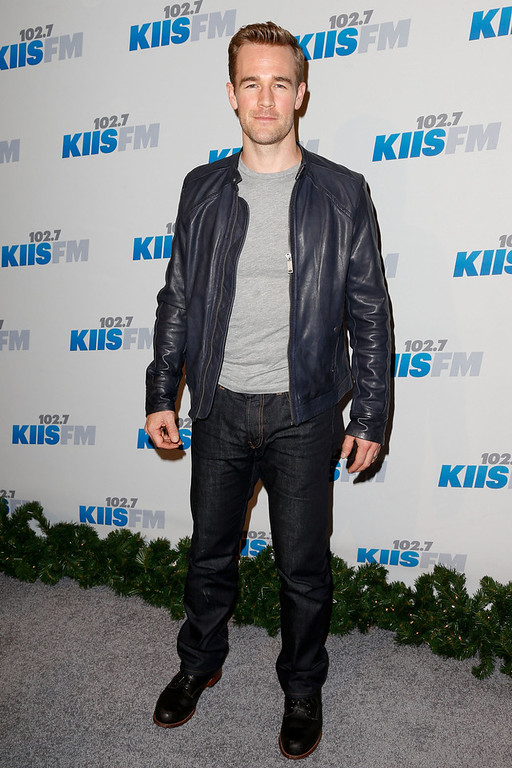. Actor James Van Der Beek attends KIIS FM\'s 2012 Jingle Ball at Nokia Theatre L.A. Live on December 3, 2012 in Los Angeles, California.  (Photo by Imeh Akpanudosen/Getty Images)