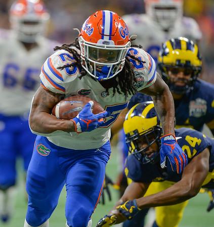 12/29/18 Peach Bowl:  Florida vs. Michigan