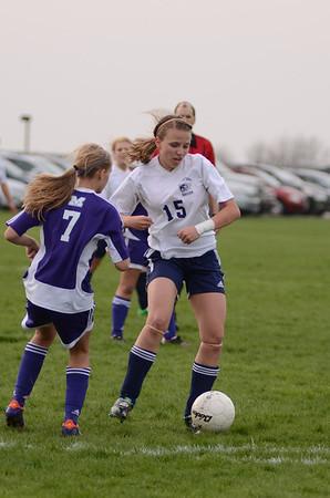 OE JV girls soccer 2012