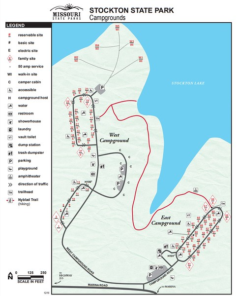 Stockton State Park (Campground Maps)