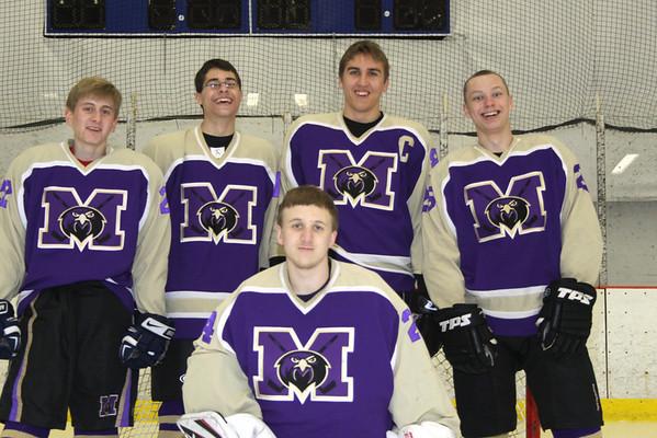 Falcon Ice Hockey, Team Photos, Individual mug shots, and captains and Sr photos.,Feb 14, 2012