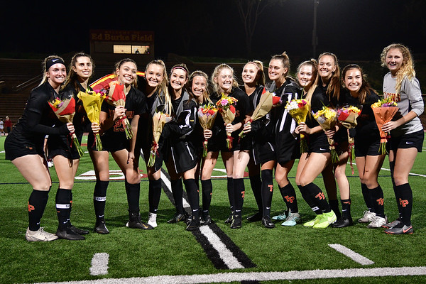 TP Girls Soccer Senior Night, 2-11-20