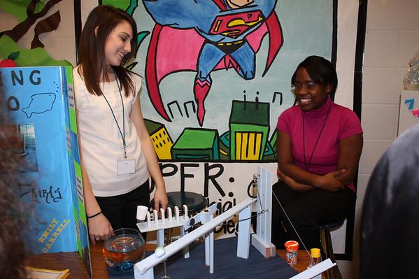 Mansfield High School Rube Goldberg Projects