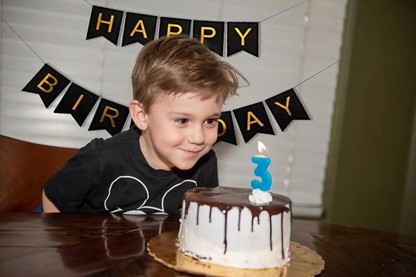 Harrison 3rd Birthday