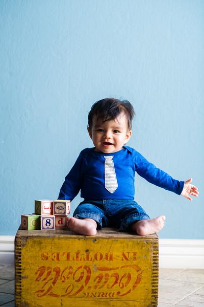 Calder 8 months