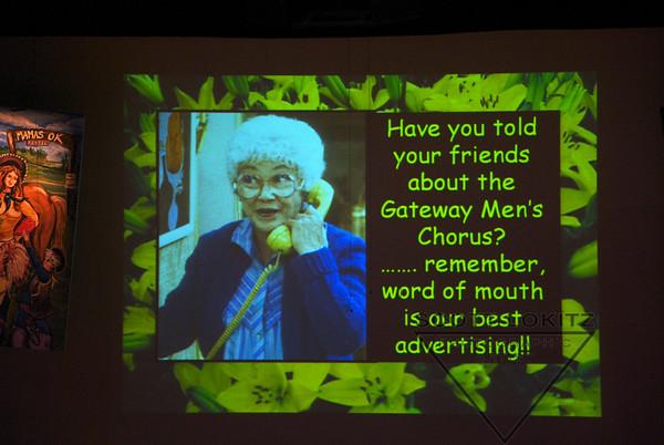 Gateway Men's Chorus  Mama Knows
