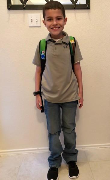 Mason | 3rd grade | Giddens Elementary