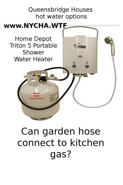 hot water help