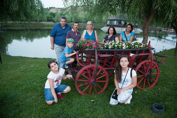 Happy time with relatives in Baldovinesti - June, 2016