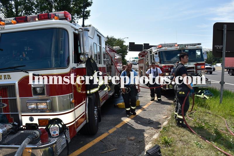 Plainview RTE 495 truck fire   K Imm 169