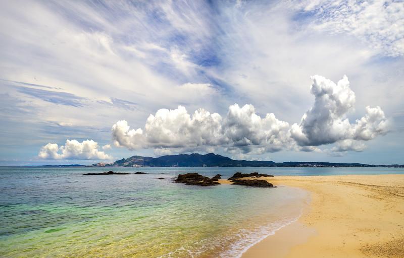 Across the Beach in Okinawa