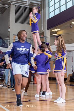 Broughton girls varsity basketball vs Millbrook. February 15, 2019. 750_7250