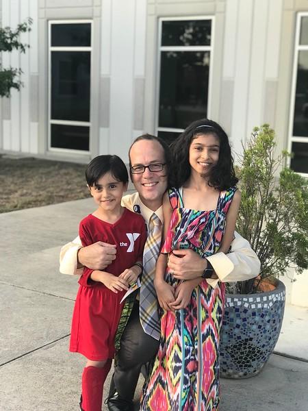 Faheem and Naimah | Kindergarten and 5th Grade | Reagan Elementary School