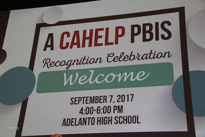 2017 PBIS High Desert Awards