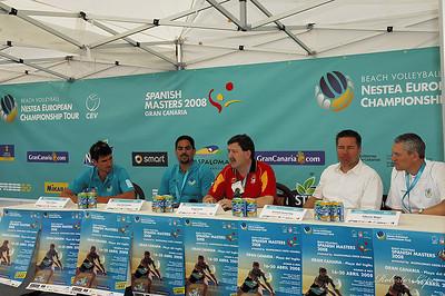 Voley Playa  -  Tour Europeo - Gran Canaria 08  -  Eliminatorias 16-4-08