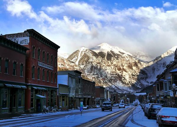 Telluride Colorado - March, 2016 * click to view gallery