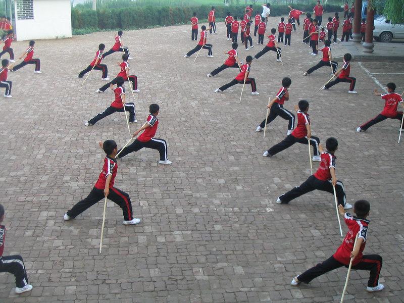 Shaolin Monastery Wushu Institute at Tagou.