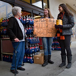 SAN MATEO HIGH SCHOOL STUDENTS CANNED FOOD DRIVE