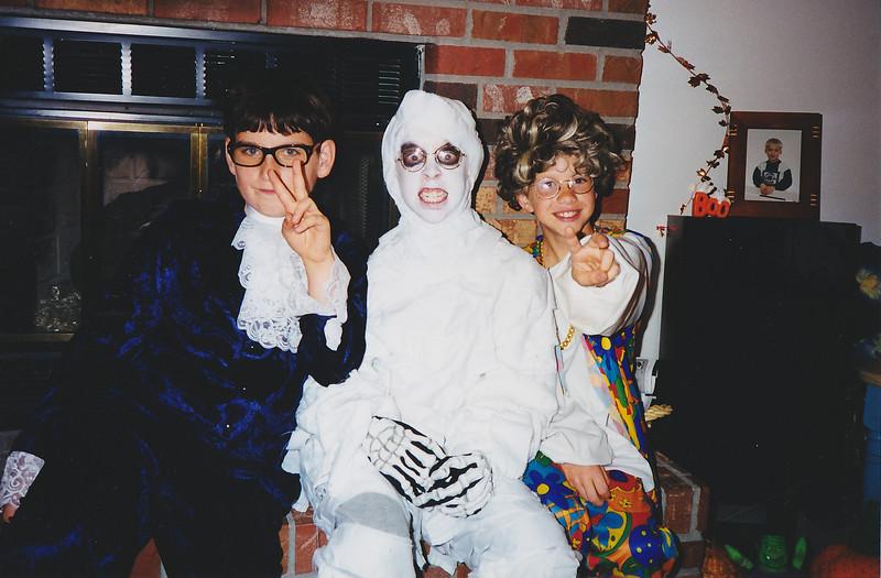 Matt Age 10, Michael Age 11, Jason, Holloween 1999