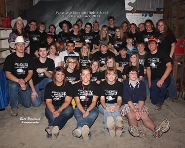 WWHS-SHS, FFA Barn Dance 2011