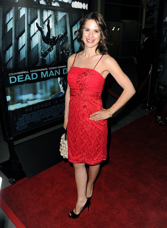 """. Actress Beata Dalton arrives to the premiere of FilmDistricts\'s \""""Dead Man Down\"""" at ArcLight Hollywood on February 26, 2013 in Hollywood, California.  (Photo by Kevin Winter/Getty Images)"""