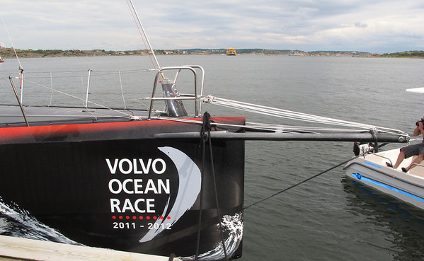 Part V. Volvo Ocean Race..Berg Propulsion competitor comes home to Hönö Island.