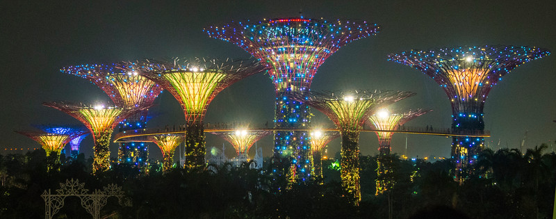 Singapore Lazer Garden lights