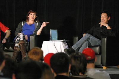 2009 Kari Byron and Grant Imahara of MythBusters
