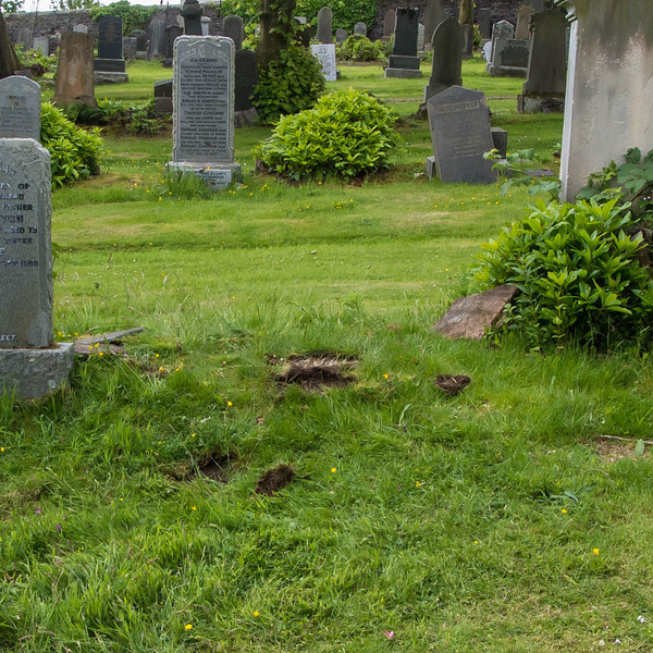 Cemetery staff could not find marker