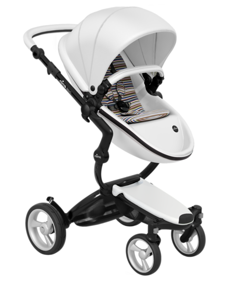 Mima_Xari_Product_Shot_Snow_White_Black_Chassis_Autumn_Stripes_Seat_Pod.png
