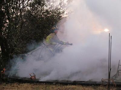 1/23/2011 - Huntersville Working House Fire