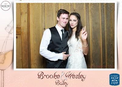 Brooke + Wesley Bailey Wedding