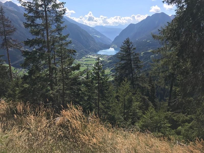 Selva to Cavaglia