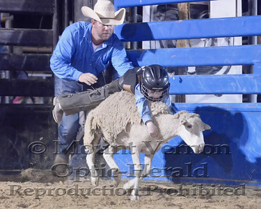 2017 Mutton Bustin Sunday 9/3/2017